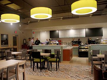 Campus Indoor campus restaurant