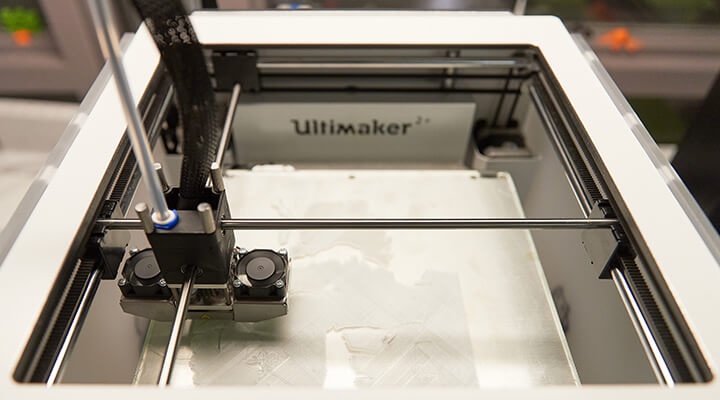 Innovative technology at McMaster - Ultimaker 3D Printer
