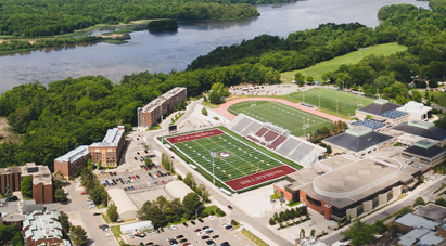 Visit McMaster - Bird's-eye view of McMaster campus