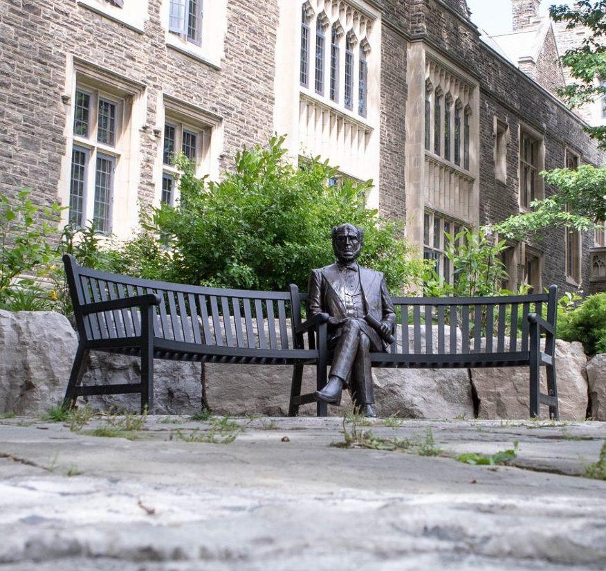 Senator McMaster statue